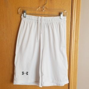 Under Armour white shorts ... small